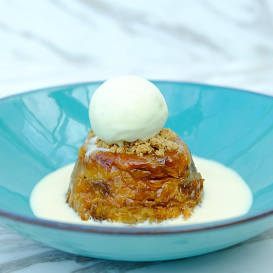 Bread and Butter Pudding Croissant at Society Cafe & Lounge