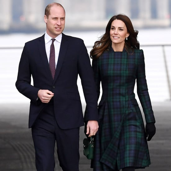Kate Middleton McQueen Tartan Coat Dundee Visit January 2019