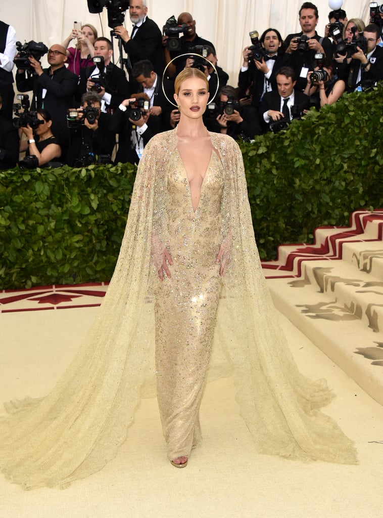 Image result for rosie huntington met gala