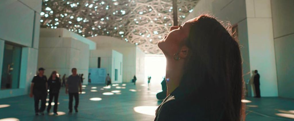 اللوفر أبوظبي يستعرض عملاً فنياً عبارة عن سحابة من العطور