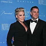 Pink and Carey Hart at UNICEF Snowflake Ball 2015