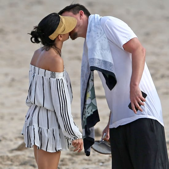 Jenna Dewan and Channing Tatum Kissing in Hawaii Feb. 2017