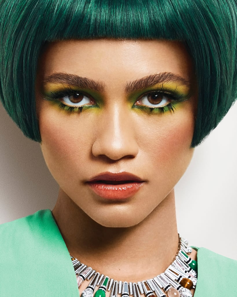 See Zendaya's Bowl Cut For Her InStyle Magazine Cover