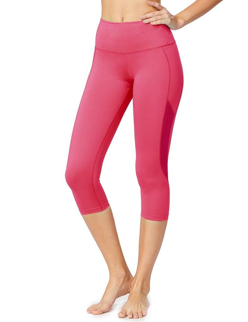 4147d0e062009 Baleaf Women's High Waist Yoga Capri Leggings | Best Yoga Pants at ...