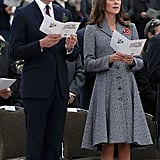 Will and Kate's First Anzac Day Service Together
