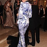 Karolina Kurkova posed for photos at the Bergdorf Goodman 111th Anniversary Celebration in NYC.