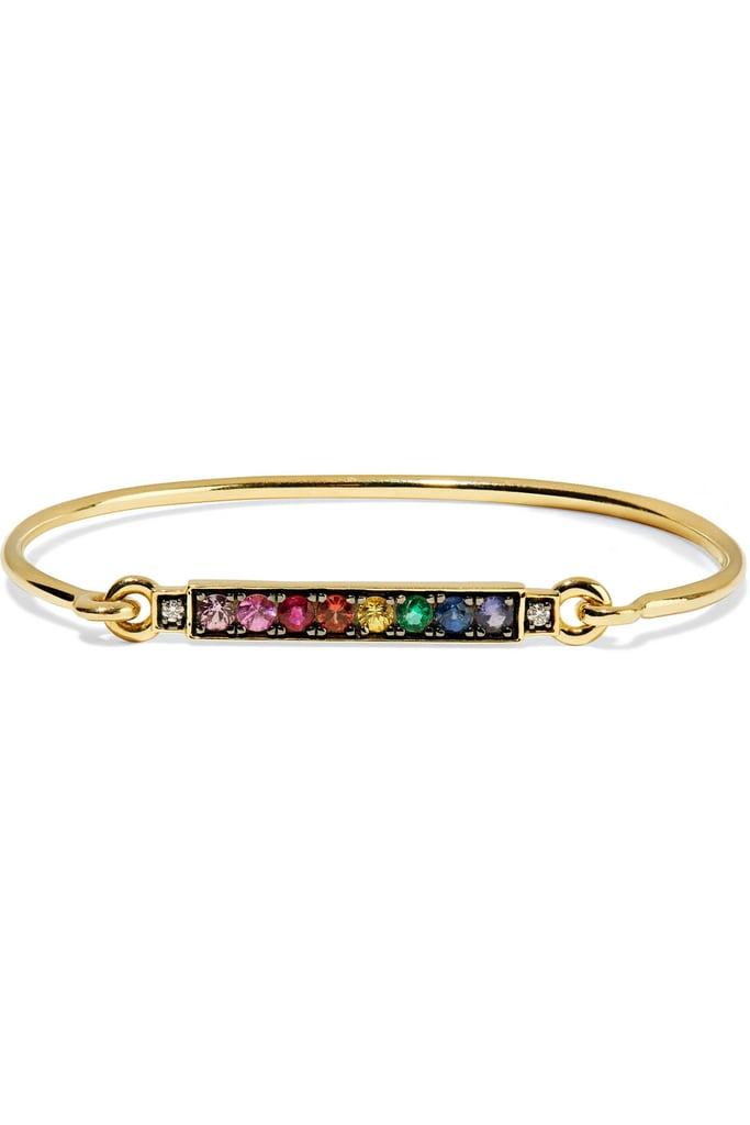 Jemma Wynne 18K Gold Multistone Bracelet