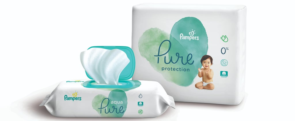 "Pampers Is Releasing ""Pure"" Diapers and Wipes With Natural Ingredients, and We're Pumped"