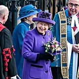 Queen Elizabeth II celebrates Commonwealth Day in 2019