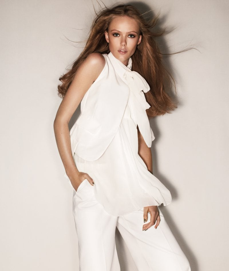 Try an all-white Sportmax look for Spring '12. Source: Fashion Gone Rogue