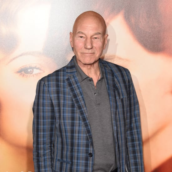Patrick Stewart's Shirtless Instagram Picture