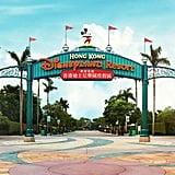 Hong Kong Disneyland Resort Zoom Background