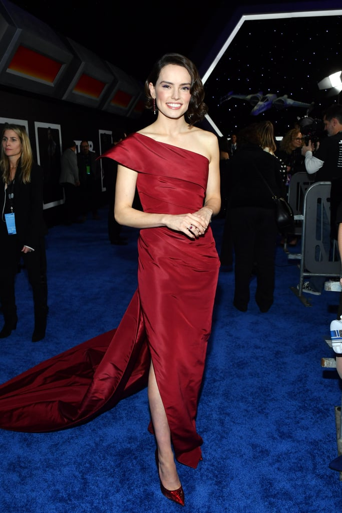 Daisy Ridley at the Star Wars: The Rise of Skywalker World Premiere