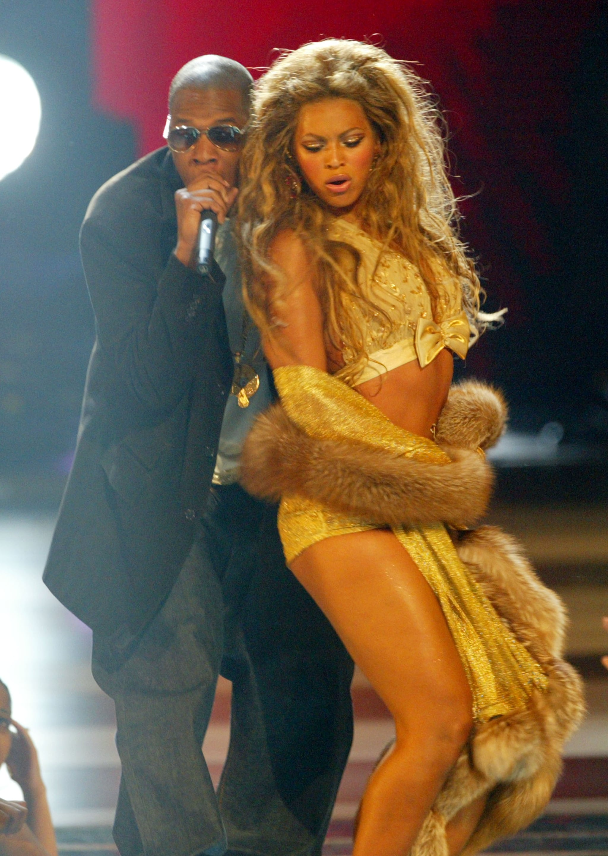 "2003: She sang ""Baby Boy"" before performing ""Crazy in Love"" with Jay Z. Everyone went nuts."