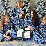SleepytimePjs Family Matching Snowflake Onesie Pajamas