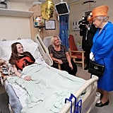 Queen Elizabeth II Visiting Manchester Victims in Hospital