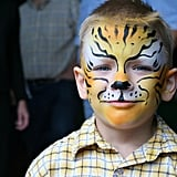 Make Designs With Face Paint