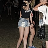 Kristen Stewart attended the second weekend of Coachella with Robert Pattinson.