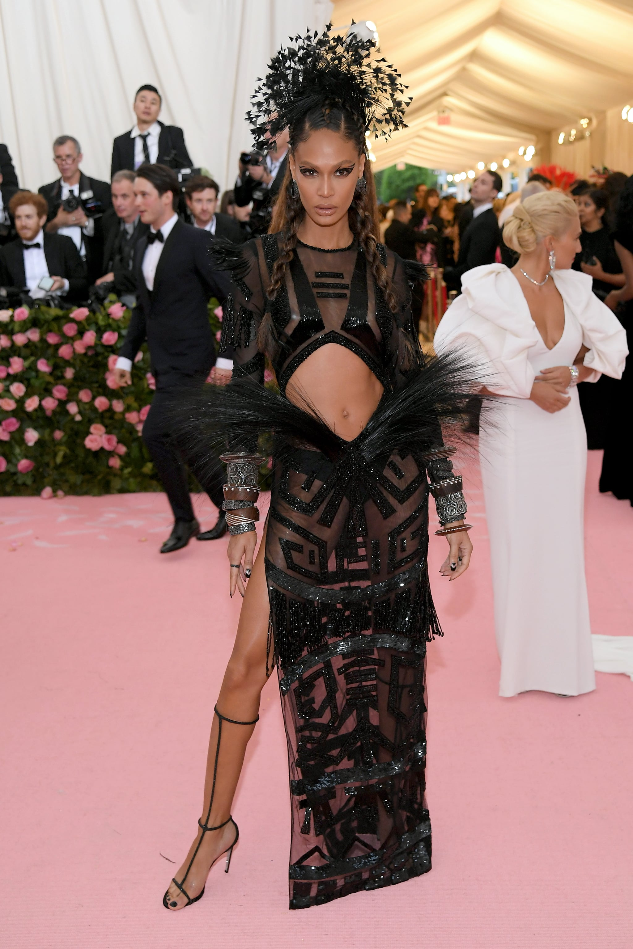 Joan Smalls at the 2019 Met Gala   These Met Gala Dresses Are So Damn Sexy, We're Gonna Need a Fan to Cool Off   POPSUGAR Fashion Photo 26