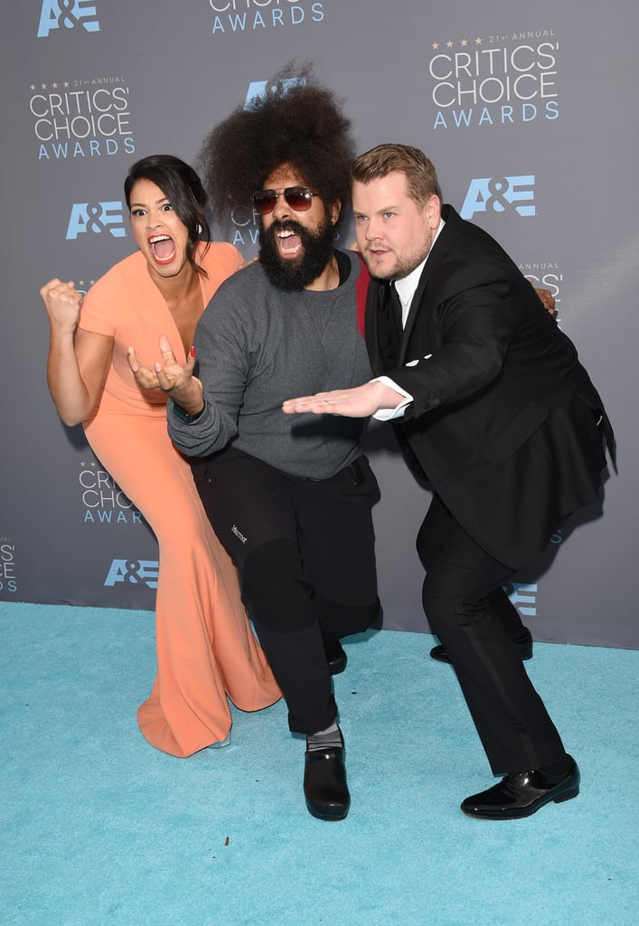 Reggie Watts James Corden