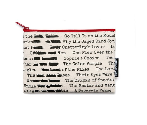 Banned Books Pouch ($12)