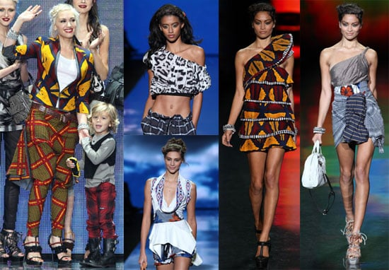 Pictures From Gwen Stefani's 2011 Spring Fashion Week LAMB Collection