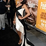 Kerry Washington wore Fall 2013 Narciso Rodriguez at the Peeples premiere in Hollywood.