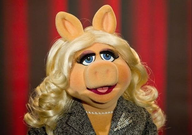 Miss Piggy With Makeup