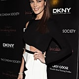 Ashley Greene gave a glimpse of her rock-hard abs.
