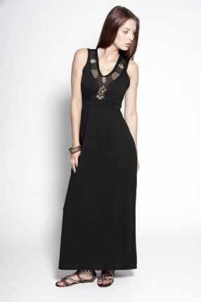 The embellished neckline on this black maxi (£25) will make sure you stand out.