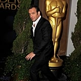 Jean Dujardin at the 2012 Oscar nominees lunch.