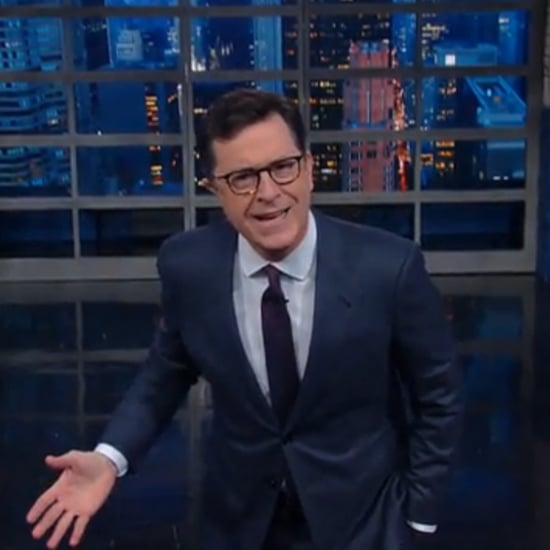 Stephen Colbert Talks Donald Trump's Meryl Streep Tweets