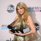 2013: She Took Home 4 Awards