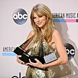 2013: Taylor Swift Took Home 4 Awards