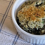 Creamed Collard Greens With Parmesan Bread Crumbs