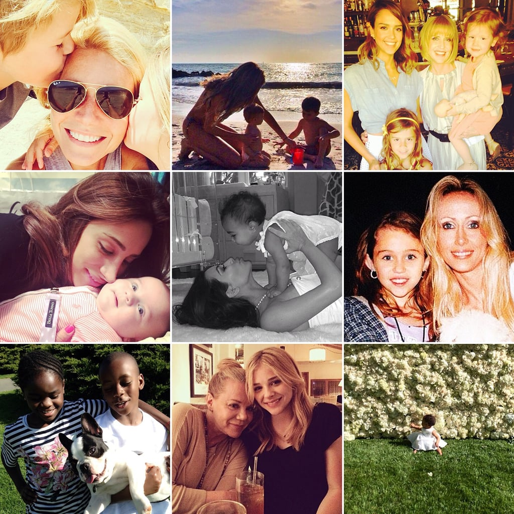 Celebrity Instagram Pictures Mother's Day 2014
