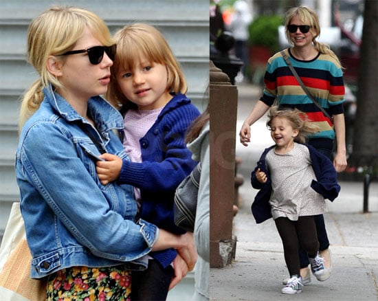 Photos of Michelle Williams and Matilda Ledger Together in Brooklyn 2009-05-18 14:30:28