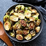 Parmesan Garlic Roasted Brussels Sprouts