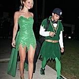 Jerry Ferrara coordinated with a lady friend for a party in LA in 2011.