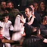 Natalie Portman and Benjamin Millepied celebrated during their traditional Jewish wedding ceremony.