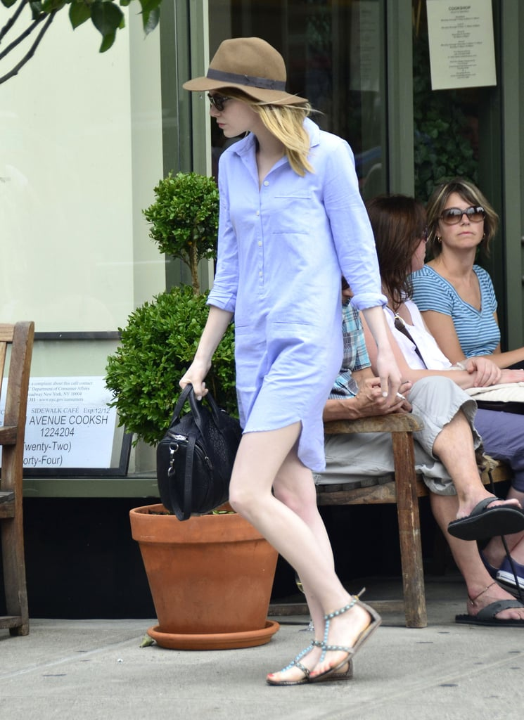 One look at Emma Stone and we're reminded just how amazing hats look with just about everything.