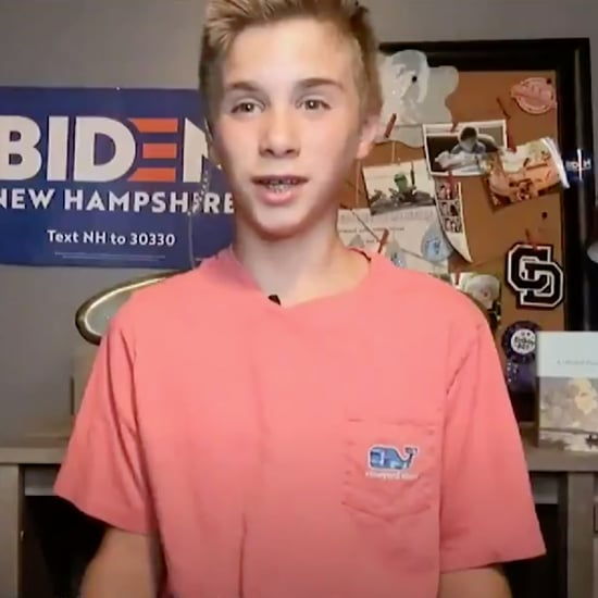 Teen With Stutter Gives DNC Speech About Joe Biden | Video