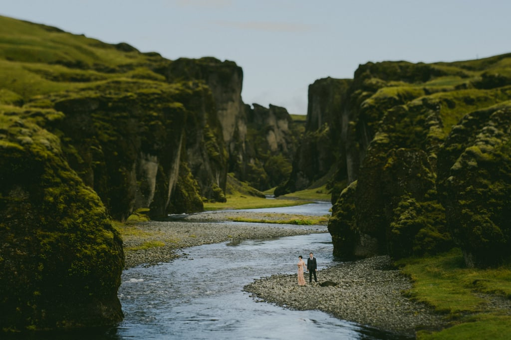 This Couple's Icelandic Wedding Is a Romantic Fantasy Come to Life