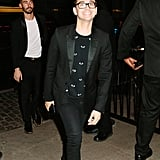 Christian Siriano at the Met Gala Afterparty