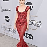 Madeline Brewer at the 2019 SAG Awards