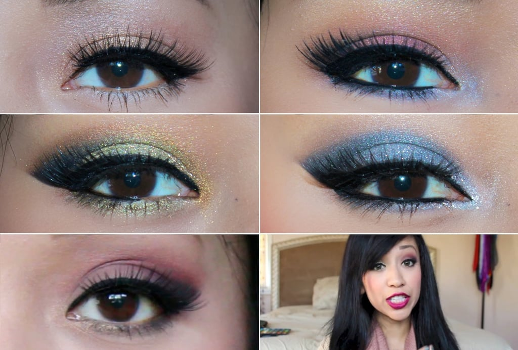 Makeup brown shadows: photo and makeup ideas