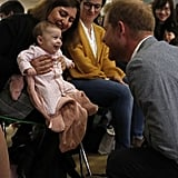 Prince Harry Visits YMCA South Ealing April 2019
