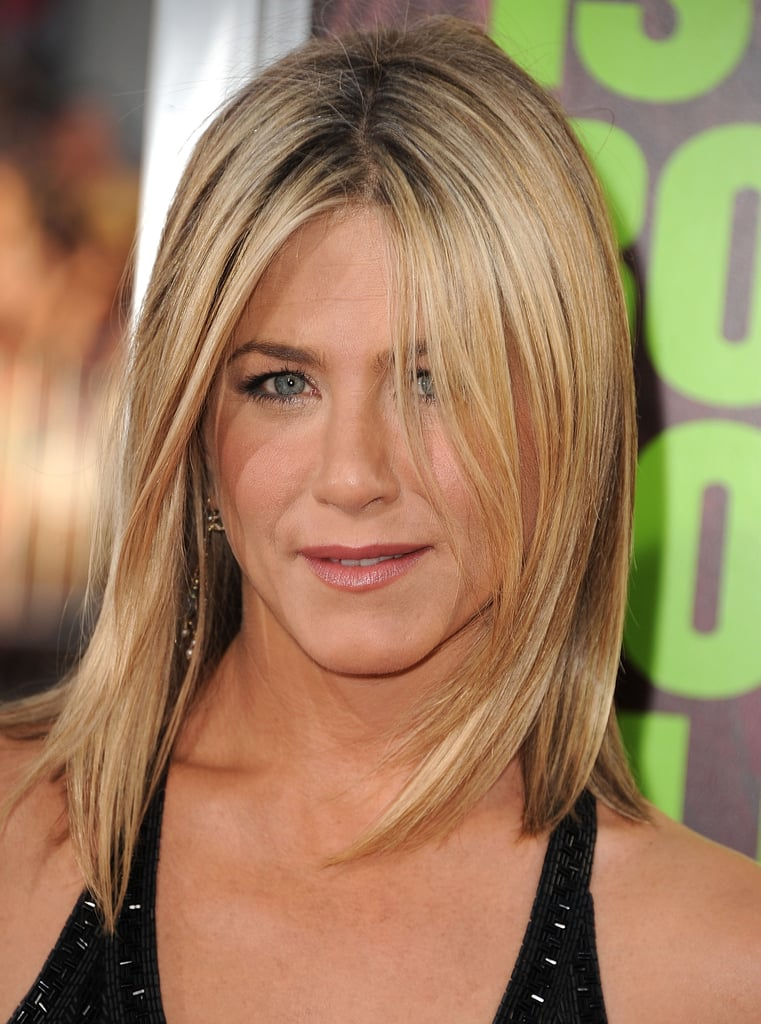 Jennifer Aniston With Blonde Hair