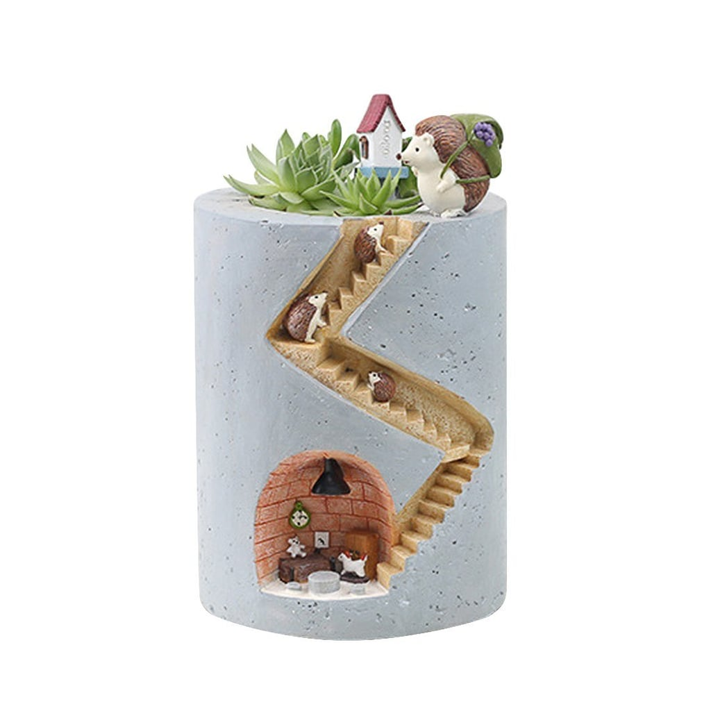 Segreto Creative Plants Flower Pots Brush Pots Ornament