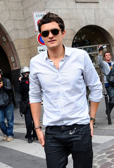 Orlando Bloom out and about in Paris